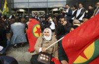 30 тыс. курдов вышли на улицы Кельна против политики Эрдогана