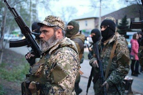 Боевики не понижают количество обстрелов, вход идет тяжелое вооружение