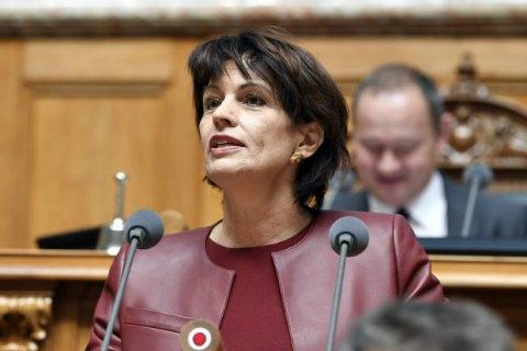 Дорис Лойтхард стала президентом Швейцарии на следующий год