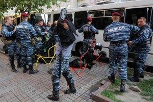 """""""Беркут"""" готовится штурмовать митингующих у СИЗО"""