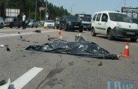 Под Киевом 20-летний водитель Mercedes сбил насмерть скутериста (обновлено)