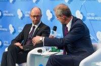 """Яценюк - ведущему BBC: """"Вы бы не получили у меня субсидию"""""""