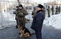 В центре Киева дежурят 800 правоохранителей
