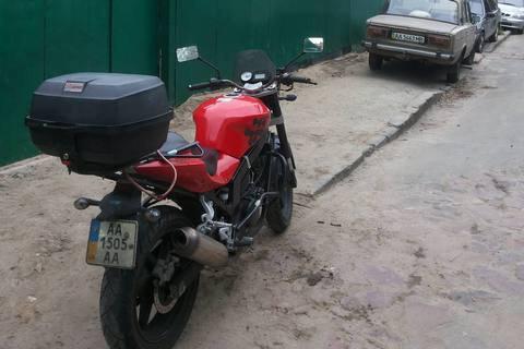 У нардепа Луценко украли мотоцикл