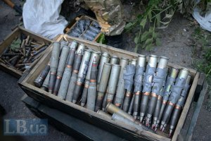 Спасатели изъяли более 11 тыс. боеприпасов на освобожденных от боевиков территориях