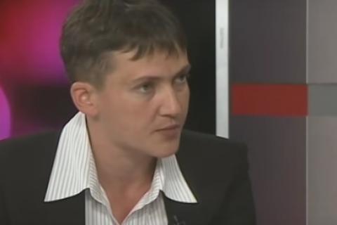 Савченко назвала руководителя ЛНР причастным кеепохищению