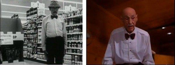 Кадры из фильмов The Goodbye Place (1996, слева) и Twin Peaks (1991, справа)