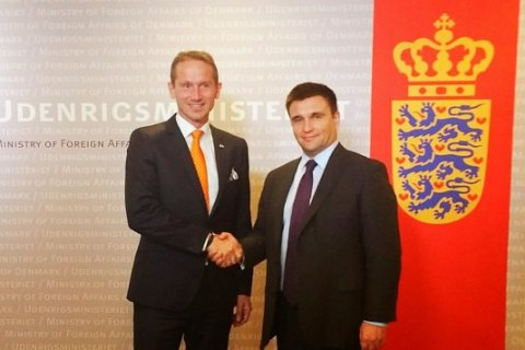 МИД Дании: РФ должна обеспечить полное прекращения огня на Донбассе