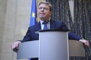 Фюле: Соглашение об ассоциации Украина и ЕС могут подписать осенью