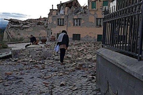 ВИталии для пострадавших вземлетрясении собралиболее 6 млн EUR