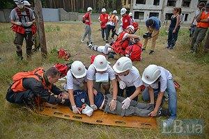 Красный Крест провел для украинских волонтеров тренинг по правилам поведения в зоне АТО
