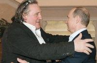 СБУ запретила Депардье въезд в Украину на 5 лет