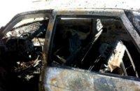 На трассе Самбор-Дрогобыч взорвался припаркованный на обочине автомобиль