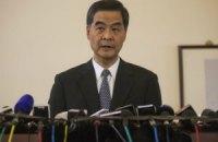 В Гонконге начались переговоры между властями и протестующими