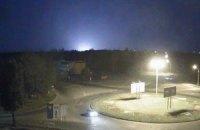 В районе луганского аэропорта произошел сильный взрыв (обновлено)