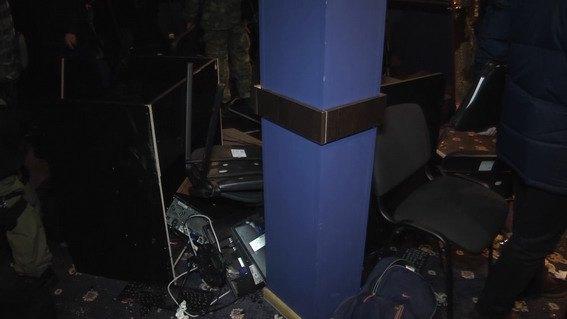 ВКиеве задержали банду, грабившую интерактивные клубы