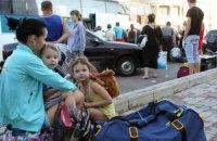Около 76 тыс. жителей Донбасса выехали из зоны АТО