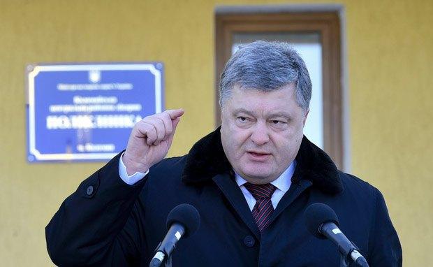 «Украина может оградить себя отРоссии»— Порошенко