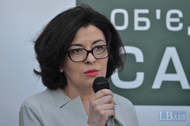 Вице-спикер Оксана Сыроид
