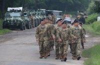 На Яворовском полигоне стартовали украино-американские учения Rapid Trident
