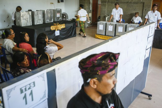 Парламентские выборы в Индонезии