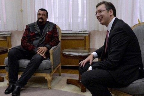 Стівен Сігал став громадянином Сербії