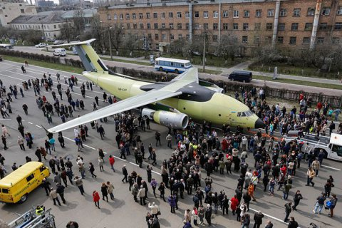 Антонов передумав називати новий літак «Бандерою»