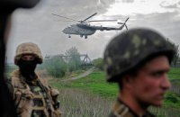 Во время атаки на украинский вертолет выжил один из пилотов, - Минобороны