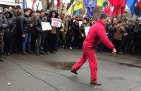 Активисты Евромайдана требуют отставки Захарченко