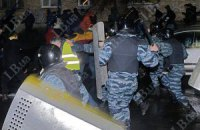 Милиция имела право применить оружие под Киево-Святошинским судом, - МВД