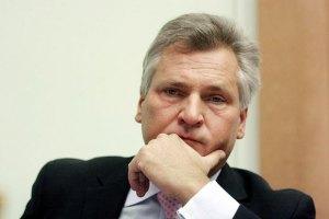 Квасьневский верит, что вопрос Тимошенко решится до Вильнюса