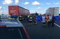 В аварии автобуса с украинскими номерами в Польше погибли пять человек (обновлено)