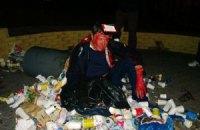 Пилипишин написал заявление в милицию после того, как его бросили в мусорник