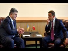 Порошенко обсудил с Дудой реформы и Донбасс