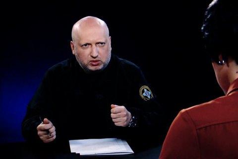 Турчинов: вопросы к РФ могут быть сняты лишь после возвращения Крыма