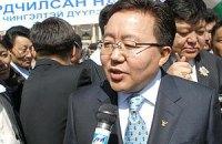 """Янукович встретился """"тет-а-тет"""" с президентом Монголии"""