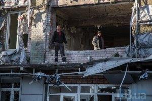 Снаряд боевиков попал в офис Авдеевского коксохима
