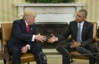 Обама встретился с Трампом в Белом доме (обновлено)