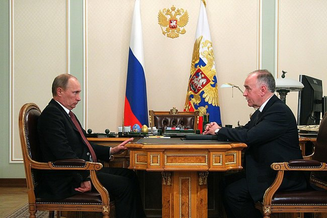 Путин и Иванов