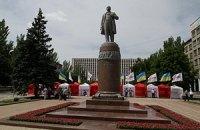 Оппозиционеры начали собираться на акцию в Донецке