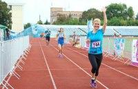 Первый зам харьковского губернатора приняла участие в марафоне к Дню Независимости