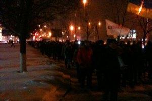 В Сумах облсовету не дали принять заявление о поддержке действий Януковича