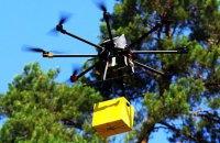 """""""Укрпочта"""" протестировала дрон для доставки посылок"""