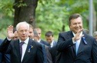 Янукович и Азаров поздравили автомобилистов