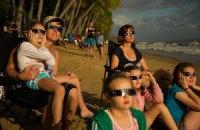 Жители Австралии смогли увидеть солнечное затмение