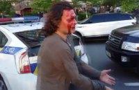 Киевские патрульные с применением силы скрутили олимпийского чемпиона (обновлено)