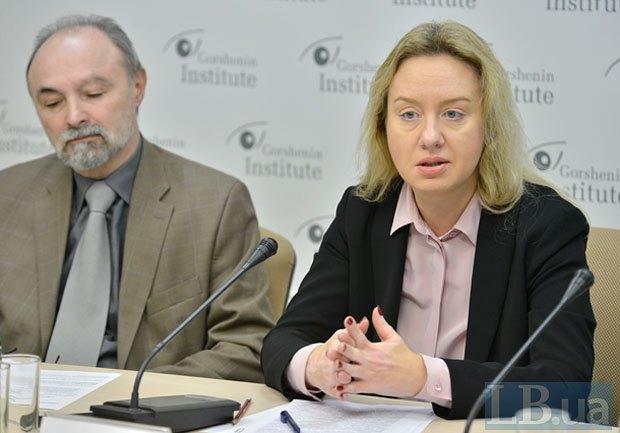 Світлана Фоменко та Микола Яковина