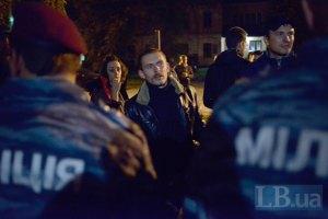 """Молодчики пытались сорвать встречу """"свободовцев"""" в Хмельницкой области (добавлено)"""