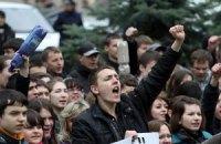 Львов отправил в Киев тысячу предпринимателей на марш протеста