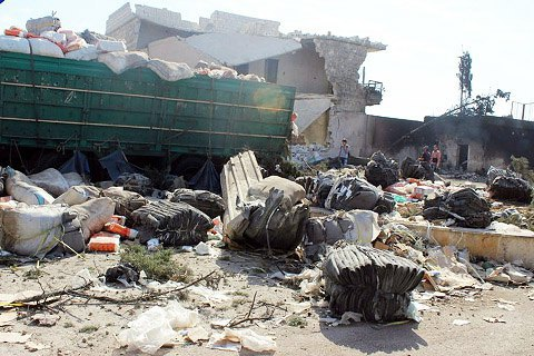 ООН готова восстановить отправку гуманитарных конвоев вСирию